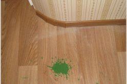 Чем оттереть зеленку с линолеума – проверенные способы —