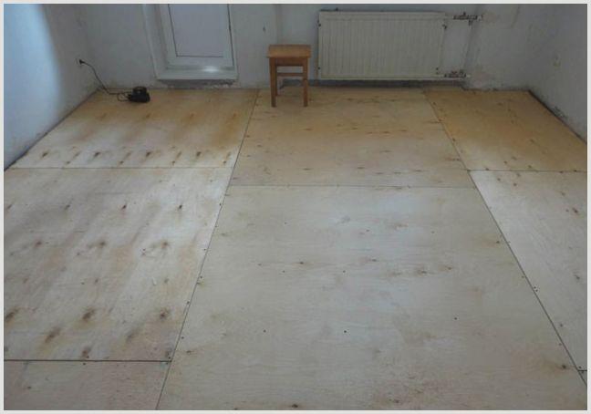 Фанера под линолеум в качестве основы на деревянный и бетонный пол —