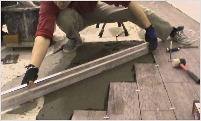 Как укладывать плитку на пол — инструкция —