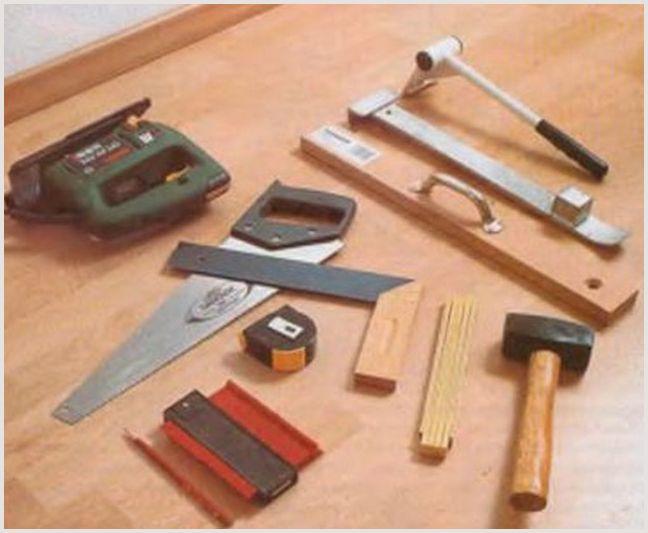 Какой инструмент для укладки ламината своими руками нужен —