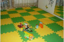 Какой мягкий пол для детей в комнату выбрать —