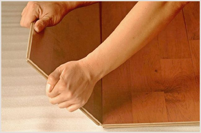 Монтаж ламината своими руками – возможные способы —
