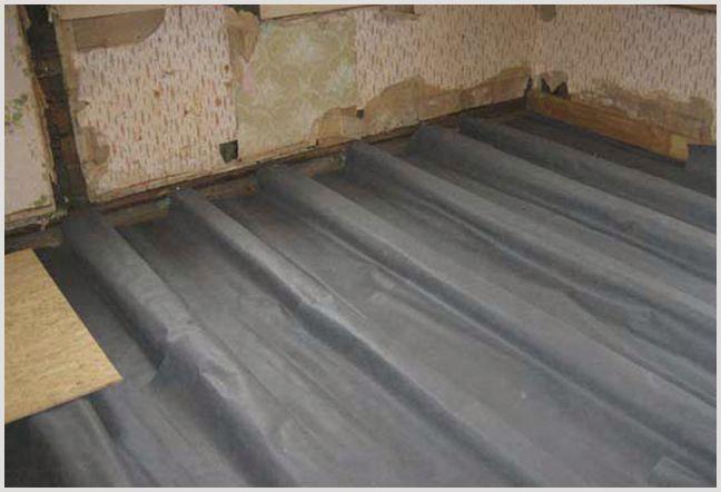 Правильная гидроизоляция пола в деревянном доме – возможные варианты и материалы —