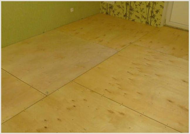 Укладка фанеры на деревянный пол – какую выбрать и как класть —