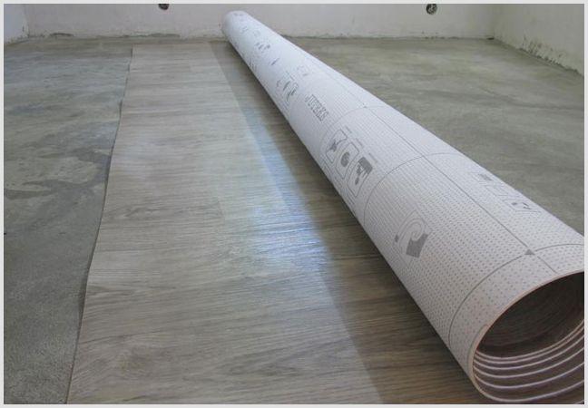 Укладка линолеума на бетонную стяжку —