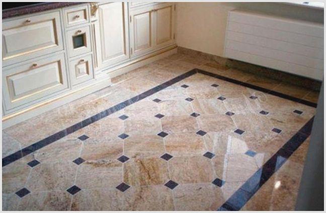 Укладка плитки на кухне на пол: последовательность действий —