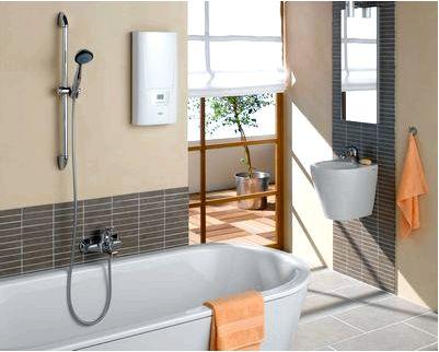 Электроприборы в душевой и ванной